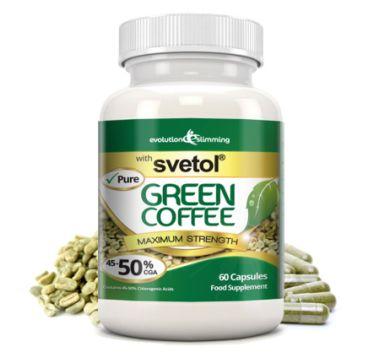 Svetol Grüne Kaffeebohnenextrakt enthält 50% Chlorogensäure