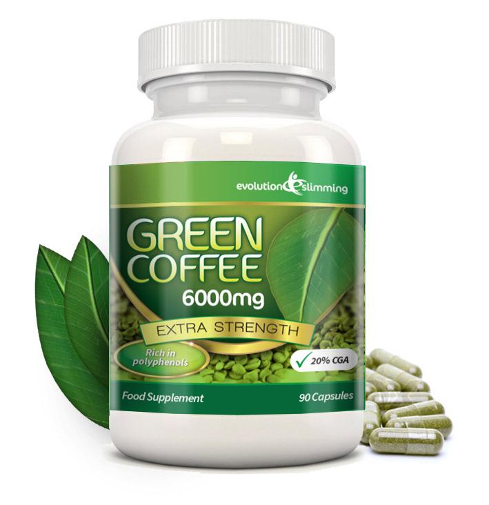 Grüne Kaffeebohnen Green Coffee 6000mg