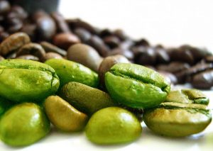 Grüne Kaffeebohnen sind einfach nur ungeröstete Kaffeebohnen