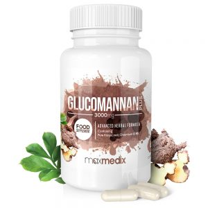 Glucomannan kapseln 3000 mg